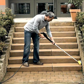 How to Use Rotating Brushes with Pressure Washers