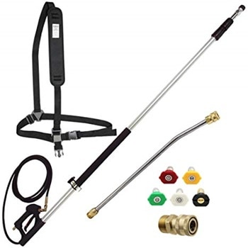 Twinkle Star 4000 PSI Telescoping Pressure Washer Wand with Belt