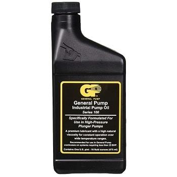 General Pump 758-115 Pressure Washer Pump Oil Black