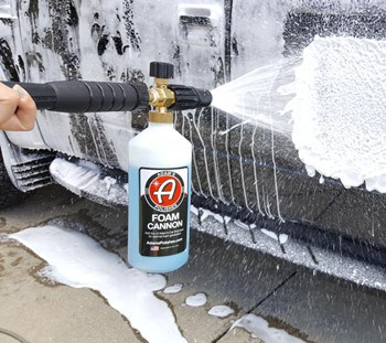How to Use a Foam Cannon