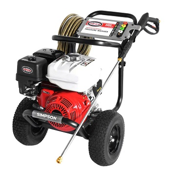 The Simpson Gas Pressure Washer GX270 4000 PSI 3.5 GPM