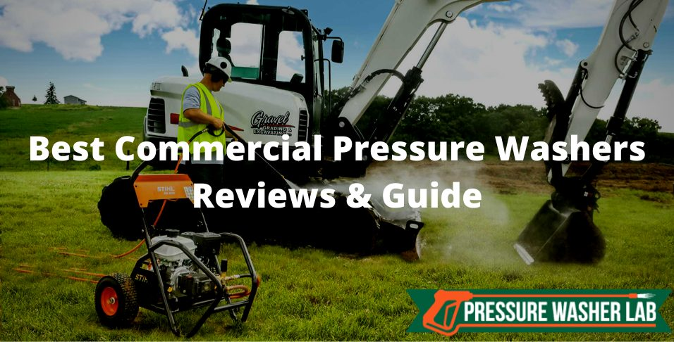 choosing commercial pressure washers