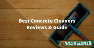 choosing concrete cleaners