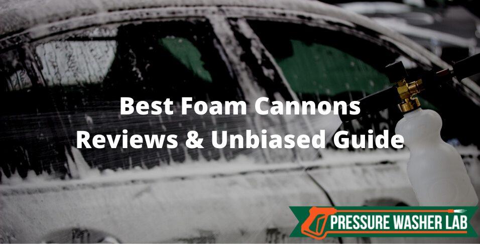 choosing foam cannons