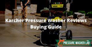 choosing karcher pressure washer