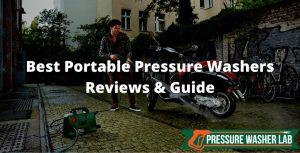 choosing portable pressure washers