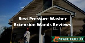 choosing pressure washer extension wands