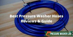 choosing pressure washer hoses