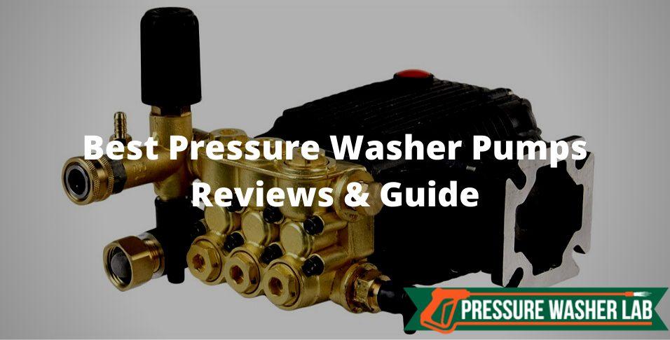 choosing pressure washer pumps