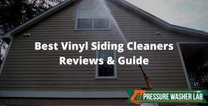 choosing vinyl siding cleaners