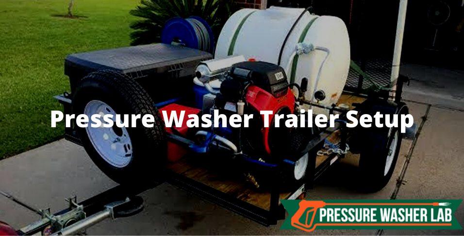 pressure washer trailer