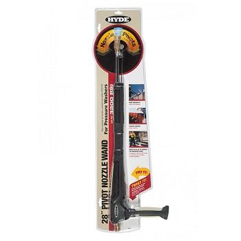 Hyde 28430 28-Inch Pivot Nozzle Universal Pressure Washer Wand